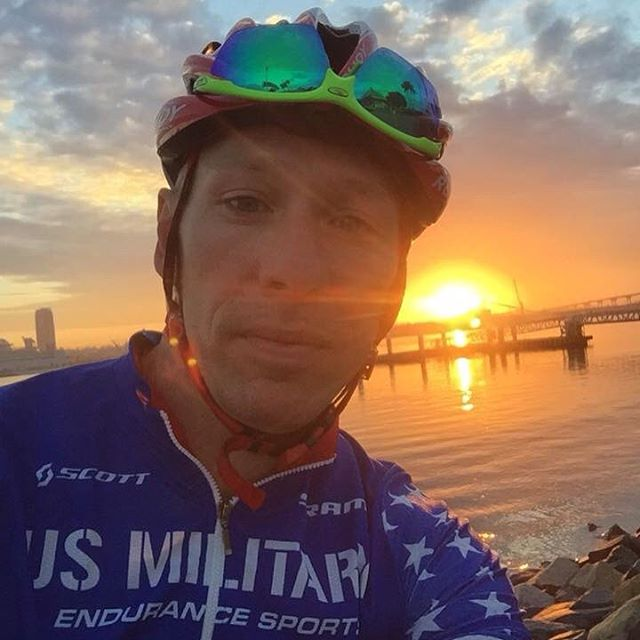 Shawn Olin enjoying the San Diego sunset on an amazinghellip
