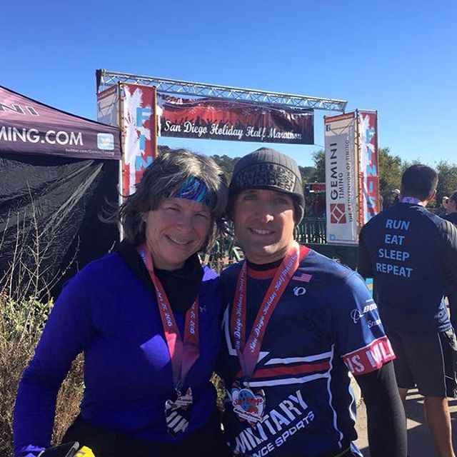 Congrats to Ken Roberts who completed the San Diego Holidayhellip