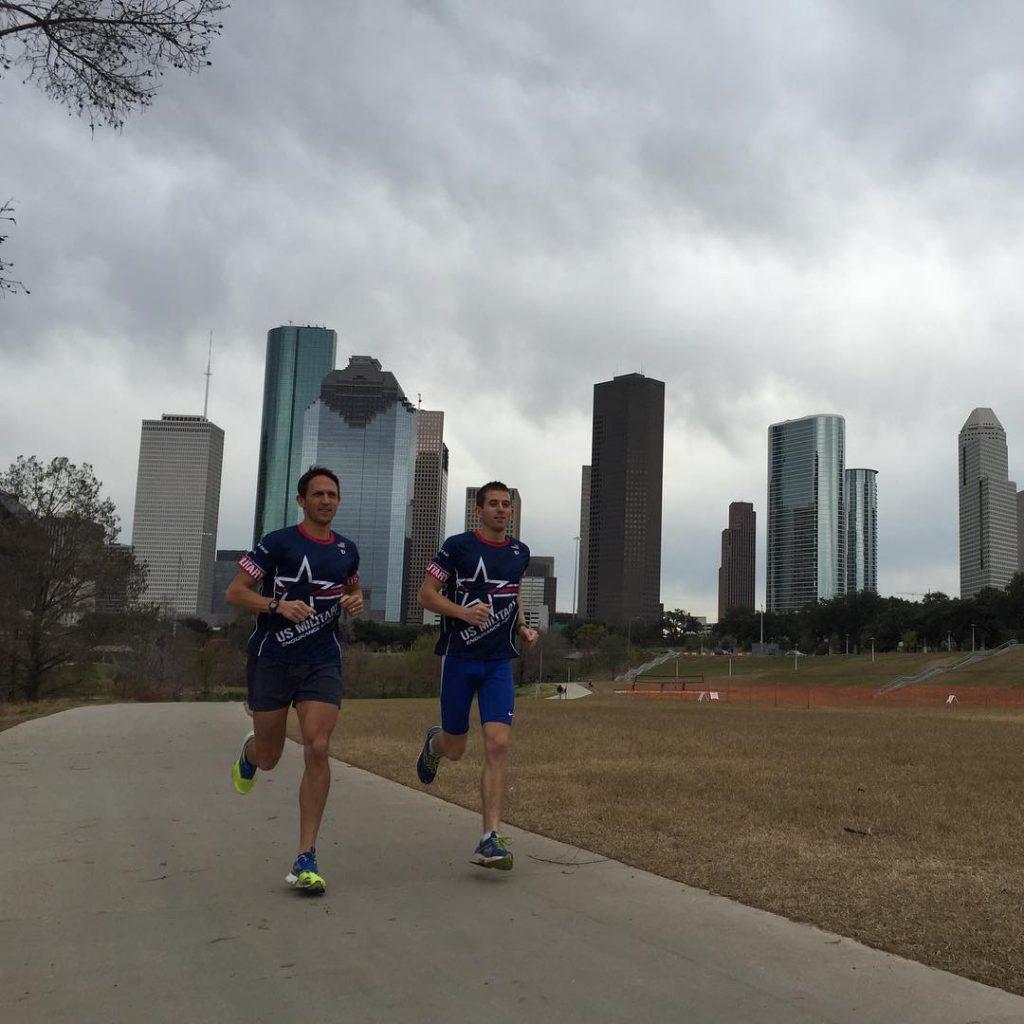 Final preps for benronpayne and Matt Williams for the Houstonhellip