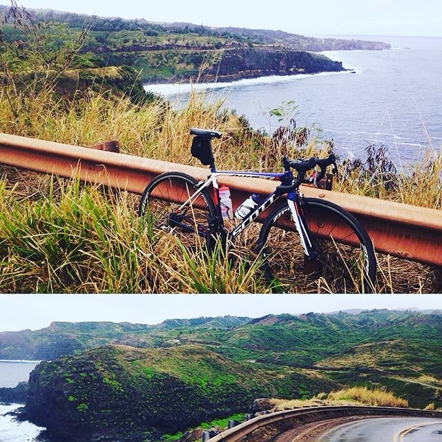 Awesome view out in Hawaii Sam1Tri ! Gotta love thathellip