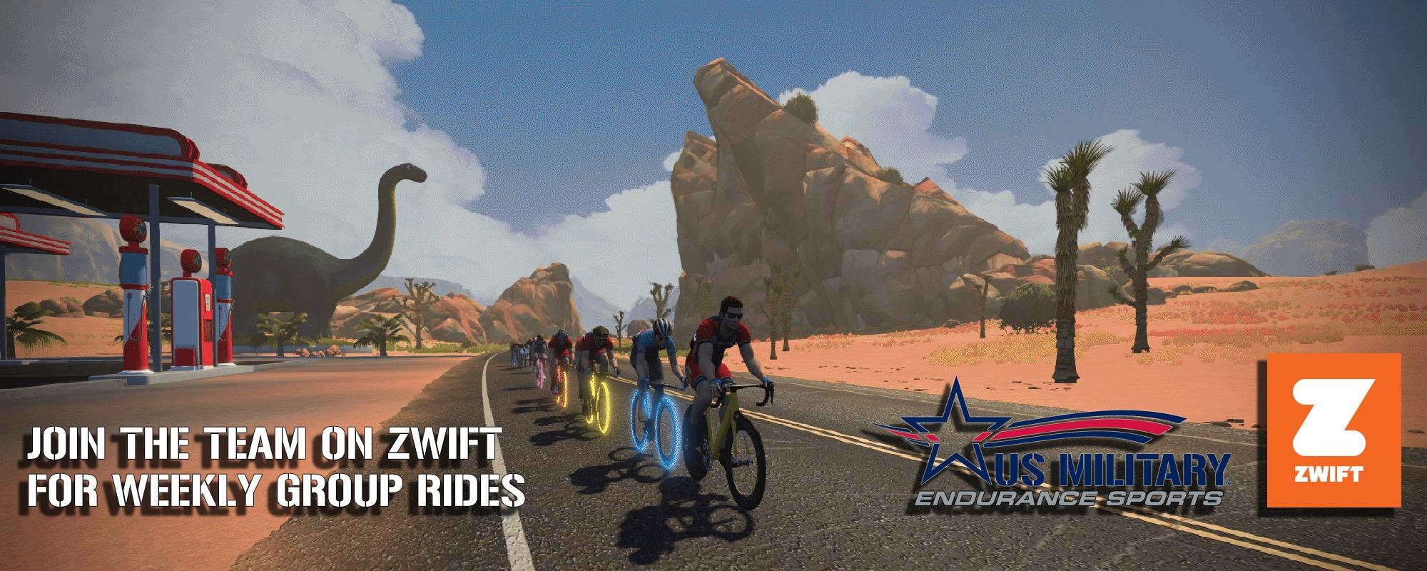 Zwift Us Military Endurance Sports